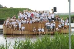 Opening schouwbrug in Hommerts 29-06-2012 007