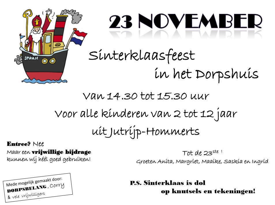 Sinterklaasfeest @ Dorpshuis Oan it Far